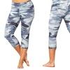 Marika Tek Women's Printed Dry-Wick Capri Leggings