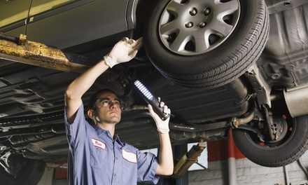 54Point Service with Oil and Filter Change at M and C Autocare