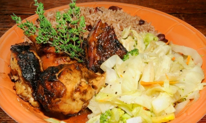 Chef Rob's Caribbean Cafe - Sandy Springs: Caribbean Meal for Two or Four at Chef Rob's Caribbean Café (53% Off)