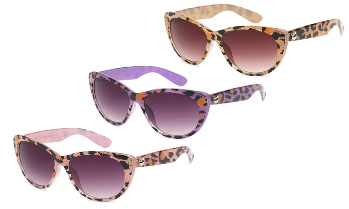 Aud56 Brown Leopard Print Cat Eye Sungles The Cut Now Women S By River Island 705252352