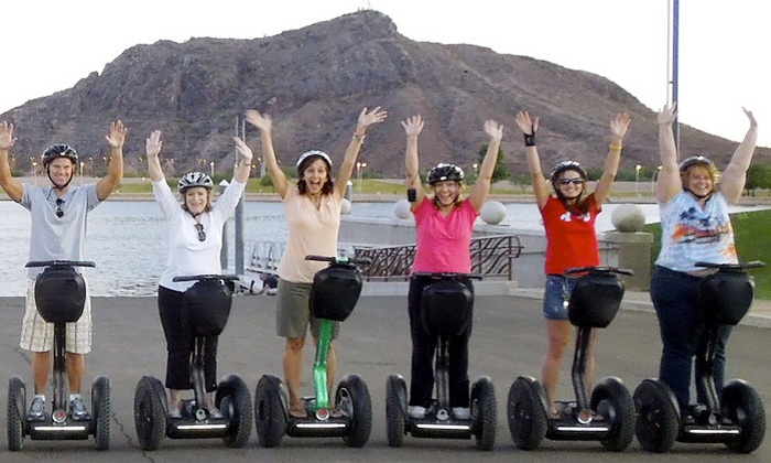 Segway of Scottsdale Segway Tours - Multiple Locations: 90-Minute Segway Tour of Tempe Town Lake or Desert Ridge for One, Two, or Four (Up to 54% Off)