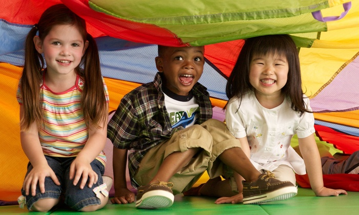 Gymboree Play & Music - Multiple Locations: $35 for One Month of Kids' Classes and Four Open-Gym Passes at Gymboree Play & Music ($127 Value)