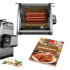Ronco 5500 Rotisserie and Cookbook Exclusive Bundle