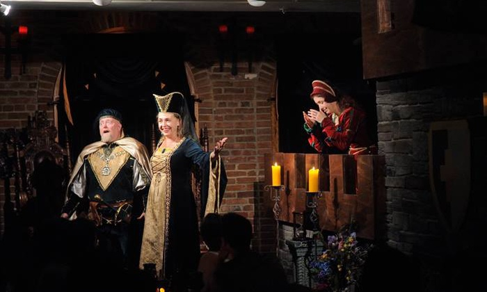 Medieval Madness - Old Town: $40 for a Medieval-Themed Comedy Show and Four-Course Dinner for One at Medieval Madness ($65 Value)