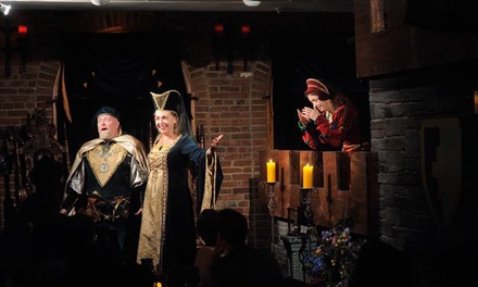 $40 for a Medieval-Themed Comedy Show and Four-Course Dinner for One at Medieval Madness ($65 Value)