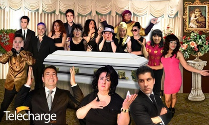 """My Big Gay Italian Funeral"" - Saint Luke's Theatre: ""My Big Gay Italian Funeral"" at Saint Luke's Theatre on September 8–October 20 (Up to 38% Off). 14 Options Available."