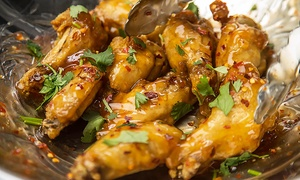 The Wing Counter: $13 for Two Groupons, Each Good for $10 Worth of Wings at The Wing Counter ($20 Value)