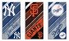 "MLB 28""x58"" Fiber-Reactive Cotton Beach Towel: MLB 28""x58"" Fiber-Reactive Cotton Beach Towel"