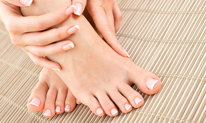 Sugar Rays - Hermosa Beach: Eco-Friendly Waterless Pedicure with Option of Basic Manicure at Sugar Rays (Up to 46% Off)
