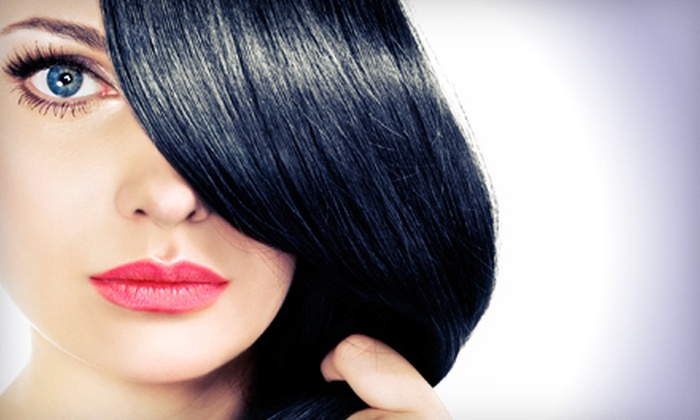 Carlos Lissimore Salon - Marietta: One, Two, or Three Keratin Treatments with Wine at Carlos Lissimore Salon in Marietta (Up to 87% Off)