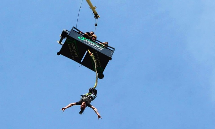 bungee jumping jumper events groupon. Black Bedroom Furniture Sets. Home Design Ideas