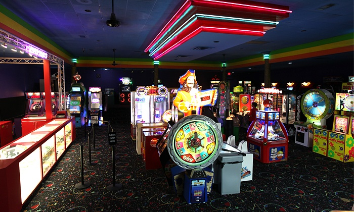 Putt-Putt Fun Center or Alley Cats Entertainment Center - Multiple Locations: $25for $40 Worth of ArcadePlay Onlyat Putt-Putt Fun Center and Alley Cats Entertainment Center