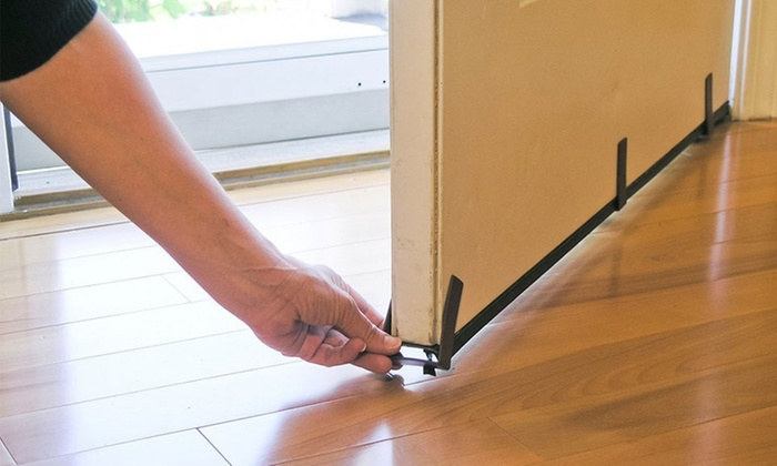 Magnetic Door Draft Stopper Groupon Goods