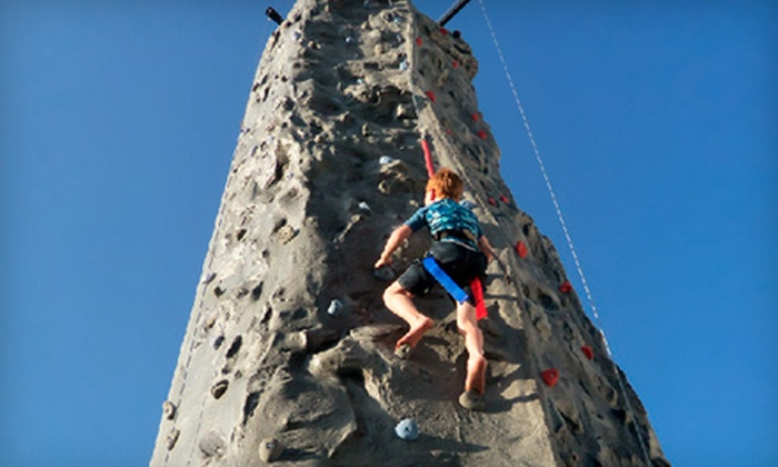 Climb - San Antonio: Two- or Four-Hour Rock-Climbing Party with Portable Wall from Climb (Up to 56% Off)