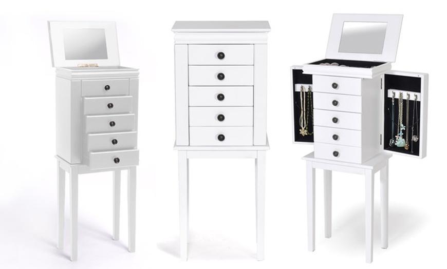 Meuble De Rangement A Bijoux Et Maquillage Modele Et Coloris Au Choix A 79 90 Livraison Offerte