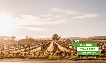 Barossa Valley Adelaide: 1-3 Nights for 2 with Breakfast, Late Check-Out and Option for Wine at Barossa Weintal Hotel