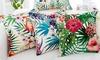 Floral Decorative Pillow Cushion Cover