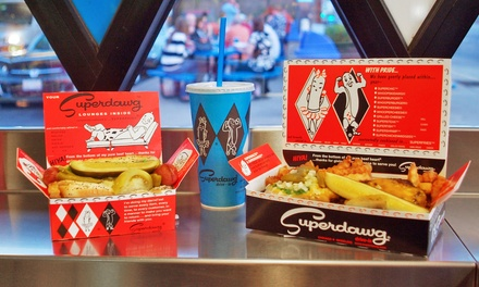 $10 for $20 at Superdawg Drive-In
