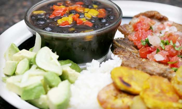 Latin Cabana - Astoria: Cuban Meal with Entrees, Sides, and Desserts for Two or Four at Latin Cabana (Up to 54% Off)