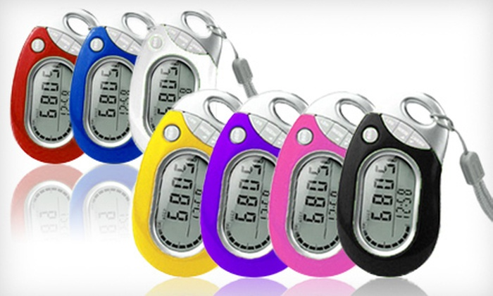Pedusa Tri-Axis Pedometer: $10 for a Pedusa Tri-Axis Multifunction Pocket Pedometer ($25 List Price). Free Shipping. Seven Colors Available.