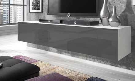Rocco Floating Media Cabinet in Choice of Colour and Size from £74.99 With Free Delivery