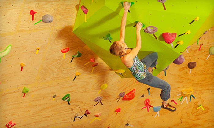 Crimper's Climbing - Christiansburg: Indoor Climbing for One or Two or Top-Rope Course for Two at Crimper's Climbing in Christiansburg (Up to 57% Off)