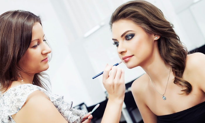 Canvas The Make-up Studio - Raleigh: $56 for $101 Groupon for Make up application — Canvas The Make-Up Studio
