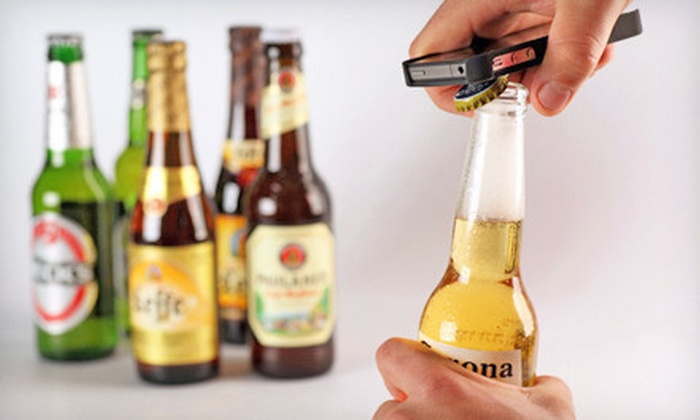 Intoxicase for the iPhone 4 or 4S: $15 for an Intoxicase Bottle-Opening Case for the iPhone 4 or 4S ($35 Value). Shipping Included.