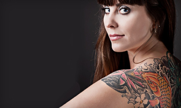 Blue Tattoo Cafe - El Cajon: One-Hour Tattoo Session, Tattoo with Up to 12 Characters, or Three-Hour Tattoo Party at Blue Tattoo Cafe (Up to 80% Off)