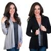 Agiato Women's Modern Long-Sleeve Cardigan
