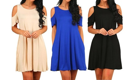 One or Two Cold Shoulder Dresses