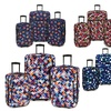 Elite Luggage Expandable Rolling Luggage Set (3-Piece)