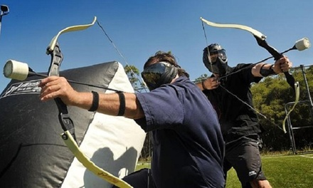 Two 15-Minute Archery-Tag Games for One, Two, or Four at Impact Archery (Up to 53% Off)