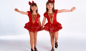 Global Music Academy: 5 or 10 Dance Classes for Kids Aged 3–5 or 6–12 at Global Music Academy (Up to 61% Off)