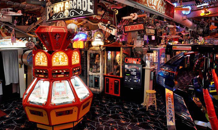 Marvin's Marvelous Mechanical Museum - Farmington Hills: Arcade Outing for Two, Four or Six, or Party for 10 at Marvin's Marvelous Mechanical Museum (Up to 46% Off)