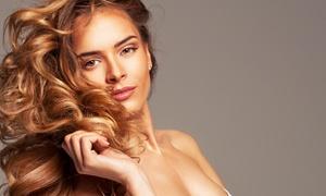 Santos Friseur: Komplett-Hairstyling, optional mit Farbe und Augenbrauenzupfen, bei Friseur Santos ab 19,90 € (bis zu 61% sparen*)