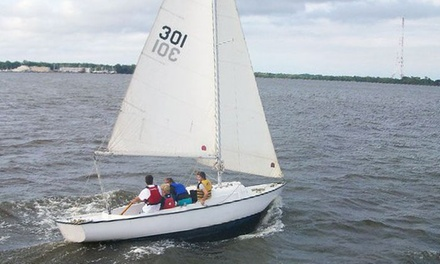 Two-Hour Sailing Lesson from Annapolis Sailing School (Up to 58% Off)