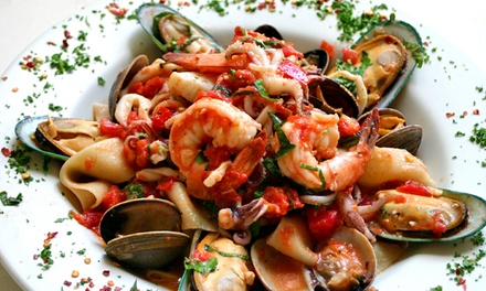 $34 for $50 Worth of Italian Cuisine on Sunday, Tuesday, Wednesday, or Thursday at Baci Bistro