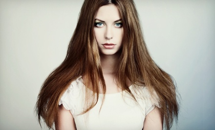 $25 for a Blowdrying Package with Shampoo, Hair Mask, and Wine or Champagne at Scottsdale Beauty Bar ($55 Value)