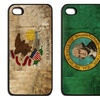 Silicone Distressed Flag Cases for iPhone 4 or 5