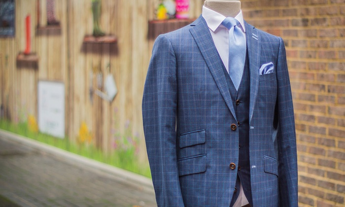HIRE5 - Multiple Locations: Hand-Finished Bespoke Suit by Simon Prince at HIRE5, Three Locations (46% Off)