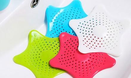 1, 2 ou 3 filtres à cheveux et déchets pour la douche et les éviers