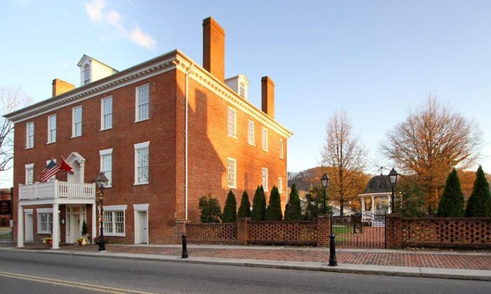Historic Hale Springs Inn - Rogersville, TN: One-Night Stay at Hale Springs Inn in Rogersville, TN