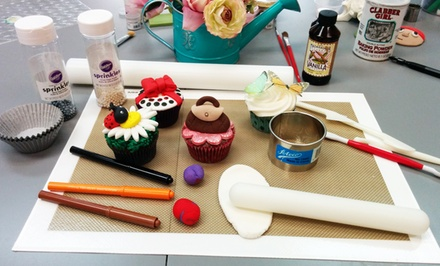 Two-Hour Cupcake-Decorating Class for One or Two at Mia Cake House (48% Off)