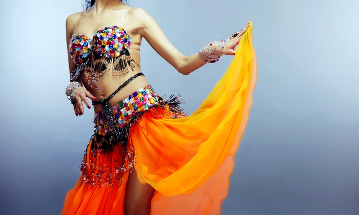 Belly Dancing Show - Broadway Comedy Club: Belly-Dancing Show Featuring Jaida at The Cafe on Broadway on February 5 or 19 at 7 p.m. (Up to 52% Off)