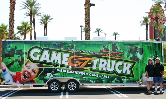 Game Truck of Northern Virginia - Cherry Hill: Two-Hour Mobile Video-Game Party on a Weekend or Weekday from GameTruck (Up to 43% Off)