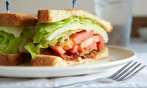 A.M. Diner: American Cuisine for Breakfast, Lunch, and Dinner at A.M. Diner (Up to 53% Off). Two Options Available.