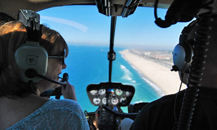 Anaheim Helicopters - Fullerton: $265 for Half-Hour Helicopter Tour of Orange County for Up to Three with DVD from Anaheim Helicopters ($530 Value)