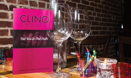 Up to 51% Off Wine&Food Pairing Events at Clinq Events