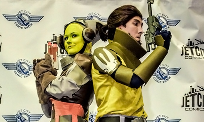 Jet City Comic Show - Tacoma Convention & Trade Center: Jet City Comic Show for Two on October 31, November 1, or Both at 10 a.m. (Up to 40% Off)